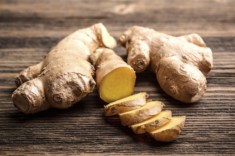 Betty Jane Ware - A image of Ginger for Wednesday's Weed blog post. Image from Pixabay.